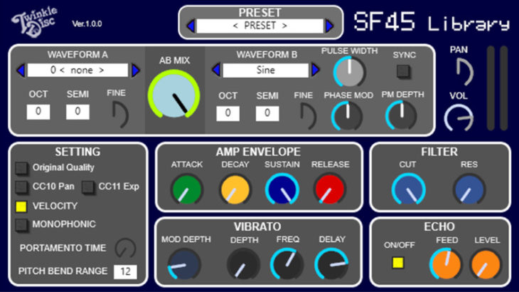 SF45 Library VST AU
